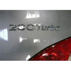 KDM 200 Turbo Lettering