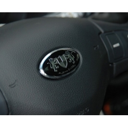 Luxury Steering Wheel Badge