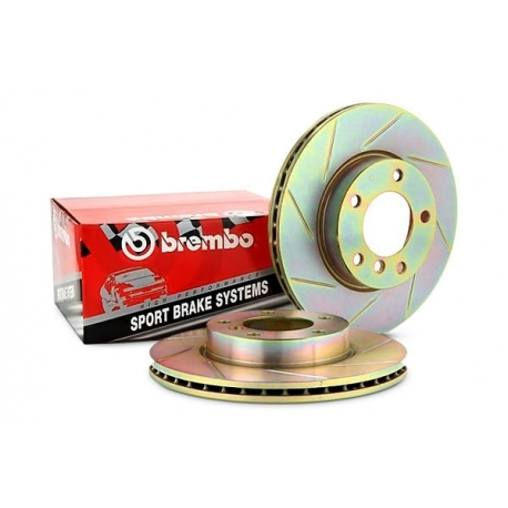 Brembo Slotted Rotors