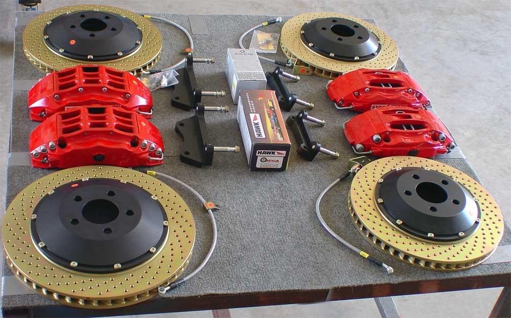 Stoptech Big Brake Kit 14 Quot Genesis Coupe