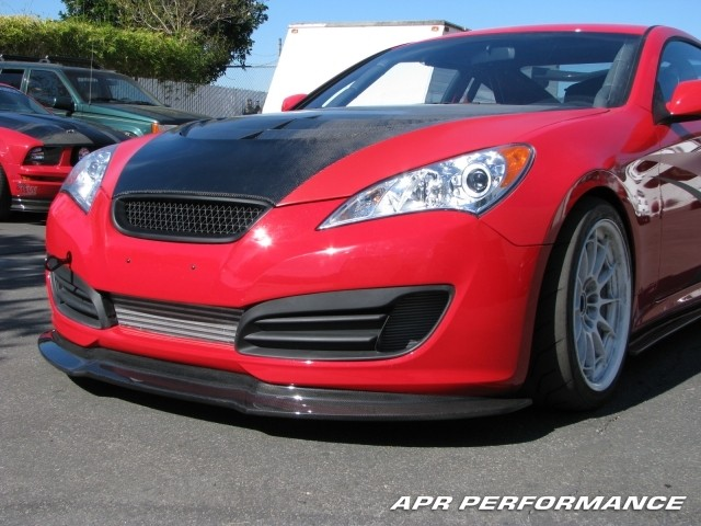 Apr Carbon Fiber Front Lip Gensis Coupe
