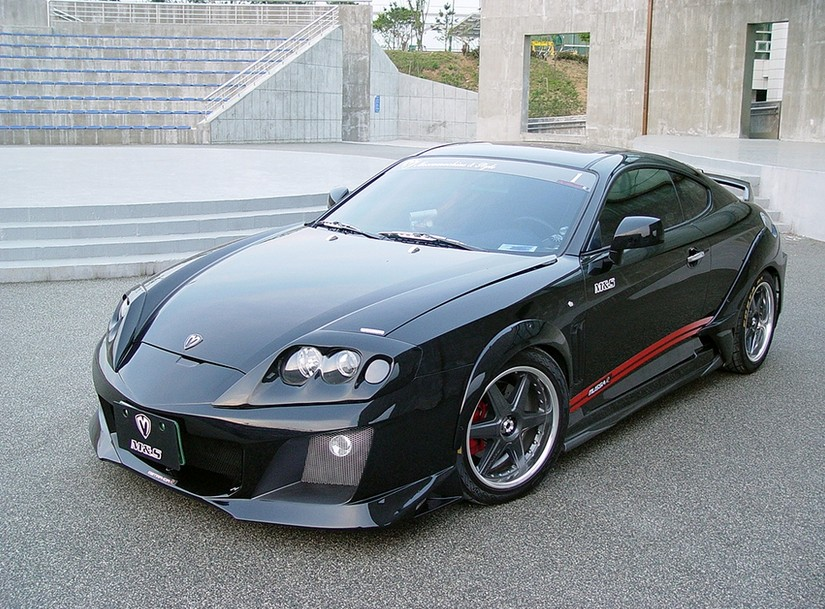 M Amp S Carart Warrior Wide Body Kit Hyundai Tiburon